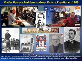 Matias Balsera Rguez 1er Radoaficionado Dxista españo podcast