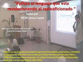 Python el lenguaje que esta revolucionando al radioaficionado 14 SEP 16 podcast